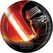Star Wars feestje bordjes 8x