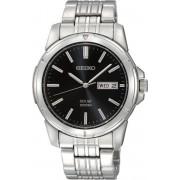 Seiko SNE093P1 horloge heren - zilver - edelstaal