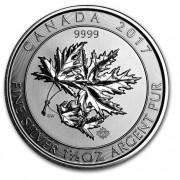 Maple Stříbrná investiční mince Multi Leaf Superleaf 1,5 Oz 2017