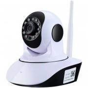 ER 1280*720 HD Cámara IP Wireless WiFi TF Tarjeta De Vigilancia De Registro -Blanco