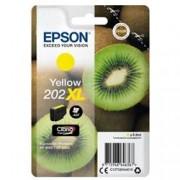 ORIGINAL Epson Cartuccia d'inchiostro giallo C13T02H44010 202XL ~650 Seiten 8.5ml