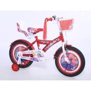"Favorit Bicikl KIDS PRINCESS 16""crvena/bela (460121)"