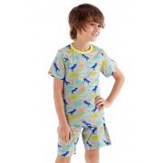 Pijama baieti Roar, scurta
