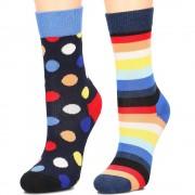 Happy Socks 2-Pack - Skarpety Dziecięce - KBDO02-6500