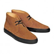 Leisure Bernacchini Calf Suede Chukka Boots, 7.5 - Camel