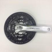 Angrenaj Acera FC-M391-S, 44x32x22T, Brat 170Mm, Cg, Aceralogo