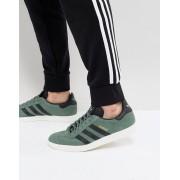 Adidas Зеленые кроссовки adidas Originals Gazelle BZ0033 - Зеленый