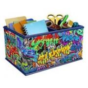 Puzzle Ravensburger Cutie Depozitare Graffiti Vanity Box 216 Pcs 3D