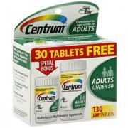 Centrum Multivitamin/Multimineral Adults Under 50 130 tablets