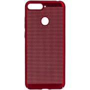 Protectie spate Senno Rock Slim Air Plastic pentru OnePlus 5T (Rosu)