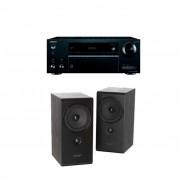 Pachet Receiver AV Onkyo TX-NR555 + Boxe Pylon Audio Opal Monitor