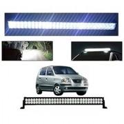 Trigcars Hyundai Santro Xing GL Bar Light Fog Light 32Inch 120 Watt