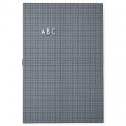 Design Letters Anslagstavla A3, Dark Grey