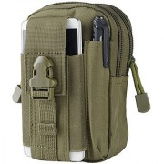Futaba Camping Tactical Molle Waist Backpack - Army Green