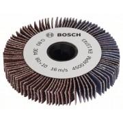 Pribor za valjak za brušenje PRR 250 ES: lamelirani valjak 10 mm, granulacija 80