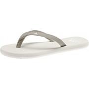 adidas Eezay Flips Women platin metallic/footwear white/raw white UK 6 EU 39 1/3 2019 Badskor & Sandaler