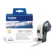 Brother Originale P-Touch QL 500 Etichette (DK-11204) 17mm x 54mm, Contenuto: 400 - sostituito Labels DK11204 per P-Touch QL500