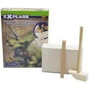 Play Fun Utgrävningskit Dinosaurie Triceratops - SES Excavate Dino
