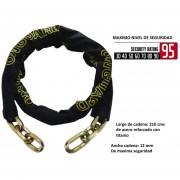 Cadena Larga Onguard Acero Refuerzo Titanio Mastiff 8018l Seguridad 95