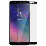 Avizar Protector Cristal Templado Borde Negro para Samsung Galaxy A6