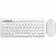 Kit Teclado Mouse LOGITECH K380 M350 Bluetooth Blanco