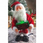 Christmas Santa Claus Doll Xmas Dancing Electric Toy - Green