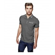 GUESS Bancroft Polo granite heather