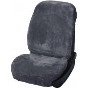 Husă scaun auto, piele naturală de miel, antracit, HP Autozubehör