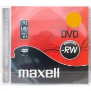 DVD-RW MAXELL, 4,7 GB, 2x, 1 бр. -