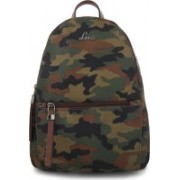 Lavie Green Medium Backpacks 2.5 L Backpack(Multicolor)