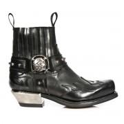 bottes en cuir pour femmes - NEW ROCK - M.7966-S1