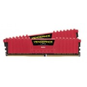 Memorii Corsair Vengeance LPX Red DDR4, 2x4GB, 2400 MHz, CL 16