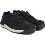 Clarks Johto Lace GTX Dark Blue Nubuck Boat Shoes For Men(Blue)