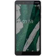 "Telefon Mobil Nokia 1 Plus, Procesor Quad Core 1.5 GHz, Ecran 5.45"", 1GB RAM, 8GB Flash, 8MP, Wi-Fi, 4G, Dual Sim, Android (Negru) + Cartela SIM Orange PrePay, 6 euro credit, 6 GB internet 4G, 2,000 minute nationale si internationale fix sau SMS nationale"