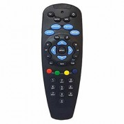 EHOP Remote Control for TATASKY DTH Set Top Box (Black) Without Recording Feature Compatible with All TV/LCD/LED Works with Tata Sky SD/HD/HD+/4K DTH Set Top Box