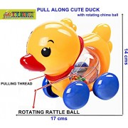 TOY STATION - PULL ALONG TOY (DUCK)