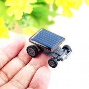 AST Works Mini Solar Powered Robot Racing Car Vehicle Educational Gadget Kids Gift Tackle.