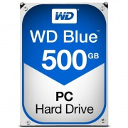 "Western Digital WD Blue WD5000AZLX - Disco rígido - 500 GB - interna - 3.5"" - SATA 6Gb/s - 7200 rpm - buffer: 32 MB"