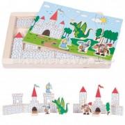 Beleduc Деревянная игрушка Beleduc Развивающий Пазл Замок 11002