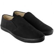 Blinder Men's Full Black Casual Mocassion Loafers Slip-on Shoes