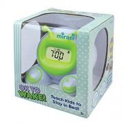 Patch Products Inc. Ok to Wake! Reloj Despertador y luz Nocturna, ¡Está Bien para Despertar! Reloj Despertador Infantil, Verde, 1