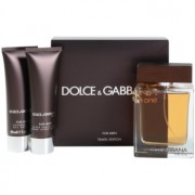 Dolce & Gabbana The One for Men lote de regalo V. eau de toilette 100 ml + bálsamo after shave 50 ml + gel de ducha 50 ml