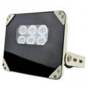 Аксесоар за видеонаблюдение IR прожектор 40м, 60 градуса, QH-IR6-60