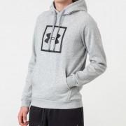Under Armour Rival Fleece Logo Hoodie Grey