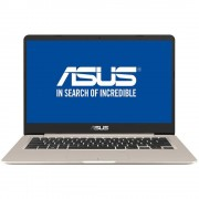 "Laptop Asus VivoBook S406UA-BM031, 14"" FHD (1920X1080), Ultra Slim, Antiglare (mat), Wide View, Intel Core I7-8550U (1.8GHz up to 4.0GHz, 8M), video"