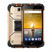 "Ulefone Armor 2 6GB+64GB 5"" Sharp Android 7.0 MTK Helio P25 Octa Core 64-bit hasta 2.6GHz WCDMA & GSM & FDD-LTE (dorado)"