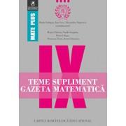 Teme supliment gazeta matematica clasa a IX-a/Radu Gologan, Ion Cicu, Alexandru Negrescu