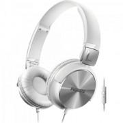 Fone de Ouvido Estilo DJ com Graves Nitidos e Microfone Integrado SHL3165WT/00 Branco Philips