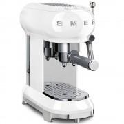 Espressor cafea Smeg ECF01WHEU, alb, retro, 15 bar