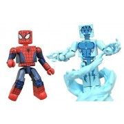 Marvel Minimates Web Warriors Ultimate Spider-Man and Electro Exclusive Figure 2 Pack